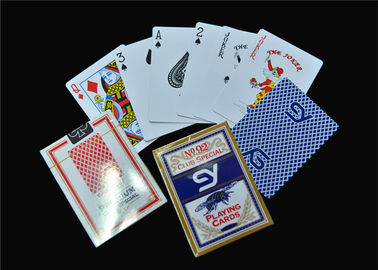 Unique Poker Playing Cards Normal Poker Size Standard Index with Box