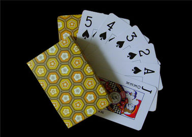 Chinese Blue Core Paper Poker Playing Cards Casino Card - Stock Customized Size