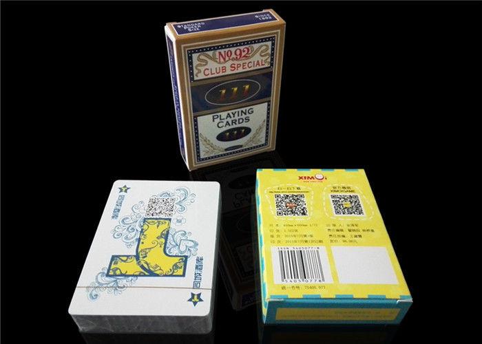 Größe Spielkarte